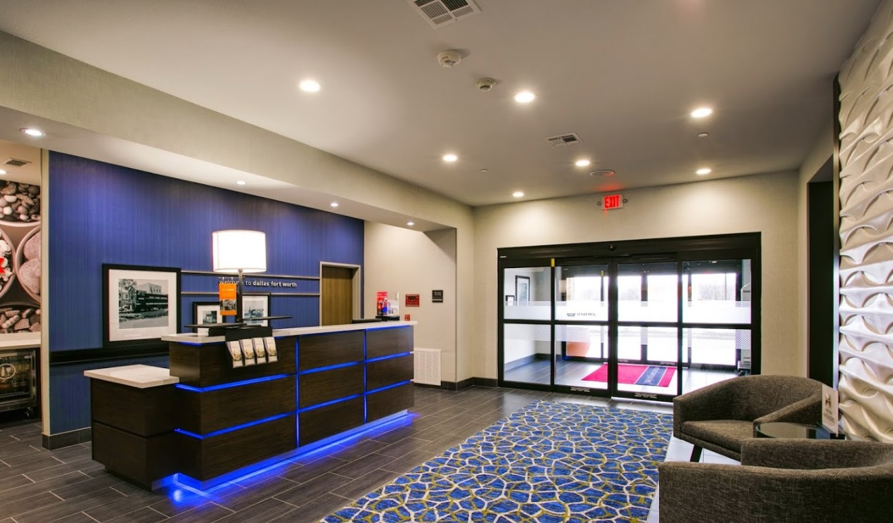 Hampton Inn & Suites – Fort Worth – JRK Design